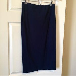 Sanctuary Clothing Classic Ponte Pencil Skirt Midi